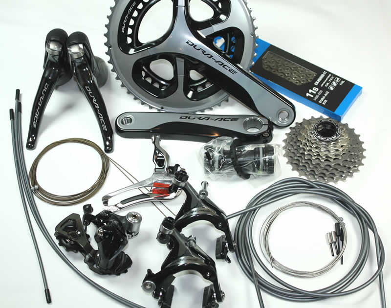 1d0d1146f05 EuroBikeParts: LIMITED QTY SALE - 2016 Shimano Dura Ace 9000 11s 8pc  Groupset (172.5mm), Discontinued Unavailable, SH-DA9000GRP8pc-Sale