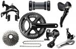 2017 Shimano 105 5800 Group 8pc 11s Black