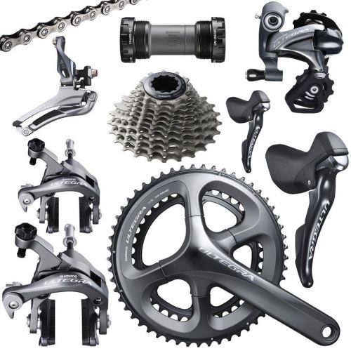 2017 Shimano Ultegra 6800 Group 11s Double Group